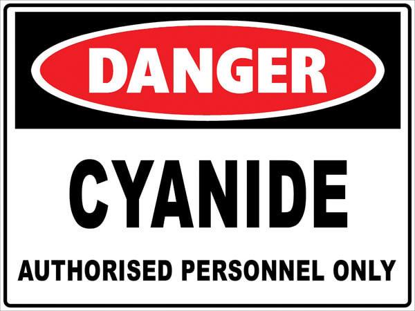 cyanide-danger